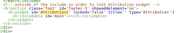 unlock locked blogger widget