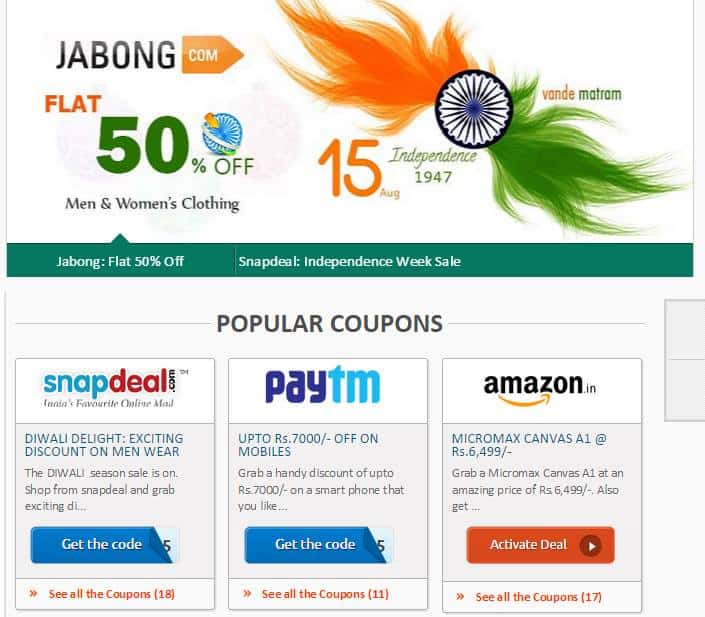 Flipkart discount coupons june 2018