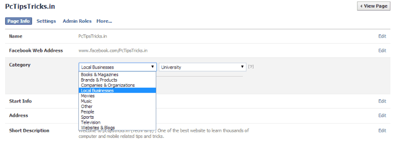 Change fb page name after 200 likes