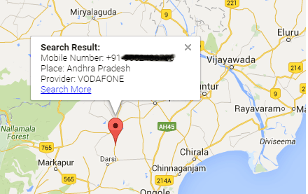 How to Trace Mobile Number Location On Google Map with Name