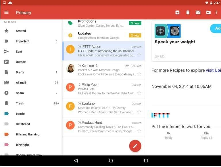 gmail-5.0 new-features