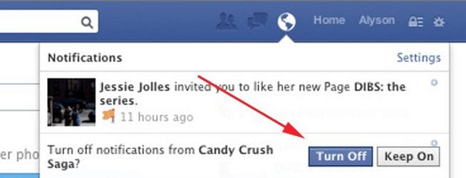 stop- candy crush requests for - PC