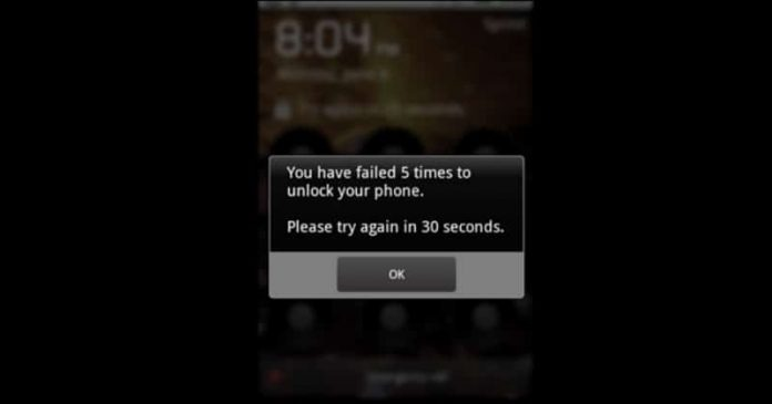 unlock android without pattern