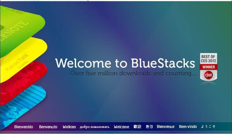 Bluestacks stacks for PC
