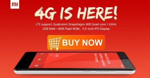 Buy Now: Xiaomi Redmi Note 4G Sales Start on FlipKart at 2PM