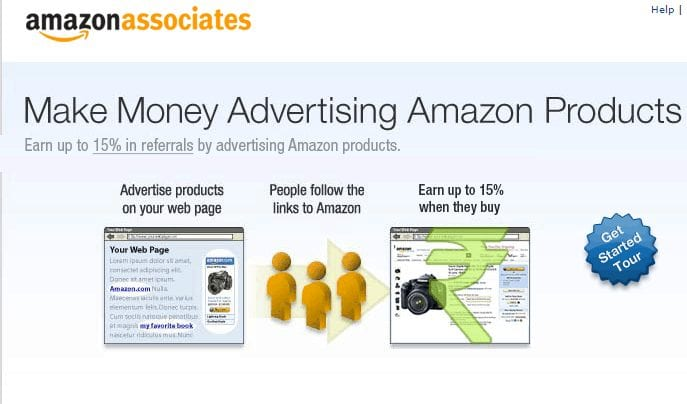 amazon affiliate program make money