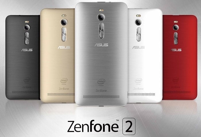 ASUS ZenFone 2 Mobile Colours