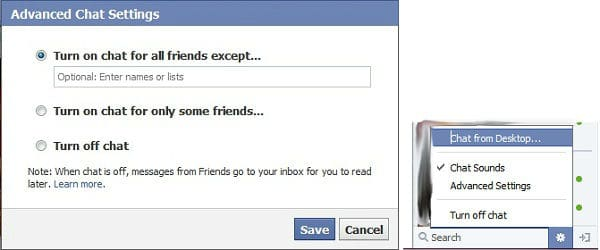 How to See Online Friends in Facebook Chat being Offline