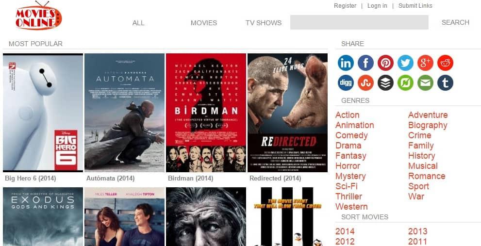 watch movies for free online without downloading