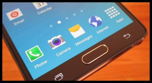 how to fix samsung note back button
