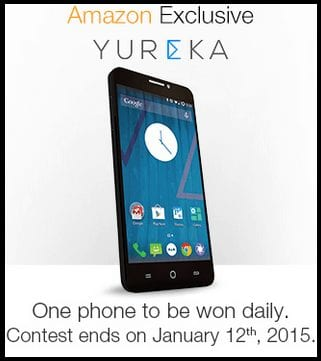 Amazon Yureka Contest One Micromax YU Yureka to be Won Daily