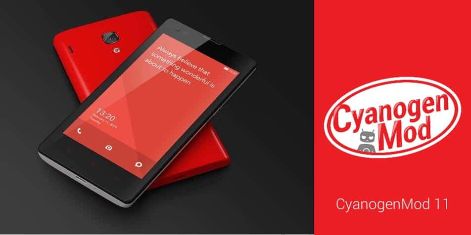 Update Xiaomi Redmi 1S to Android Kitkat 4.4.4 With Cyanogen MOD 11 ROM