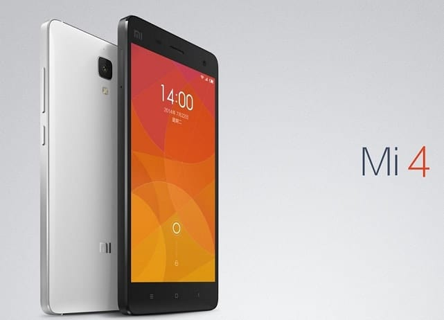Xiaomi Mi4 India Launch Scheduled for January 28