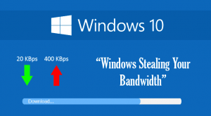 Save your Bandwidth in Windows 10 by Disabling Update Delivery Option – Here's how