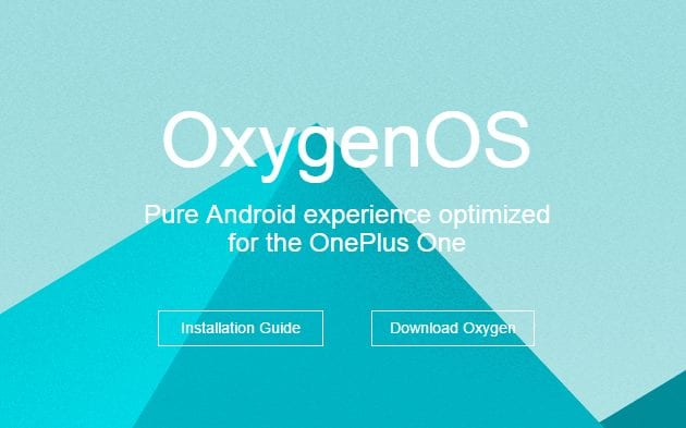 download and install oxygen os