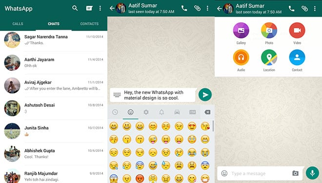 whatsapp-material-design screen shot