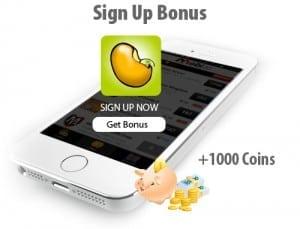 MeshBean Sign Up Bonus