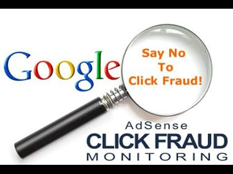 adsense say no to click fraud