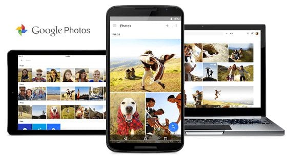 Google Photos App for iOS and Android