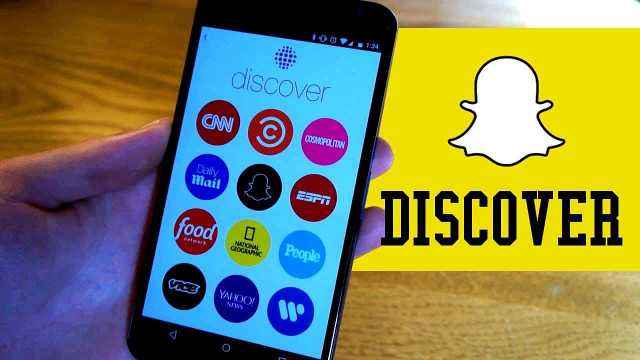 Snapchat's Discover