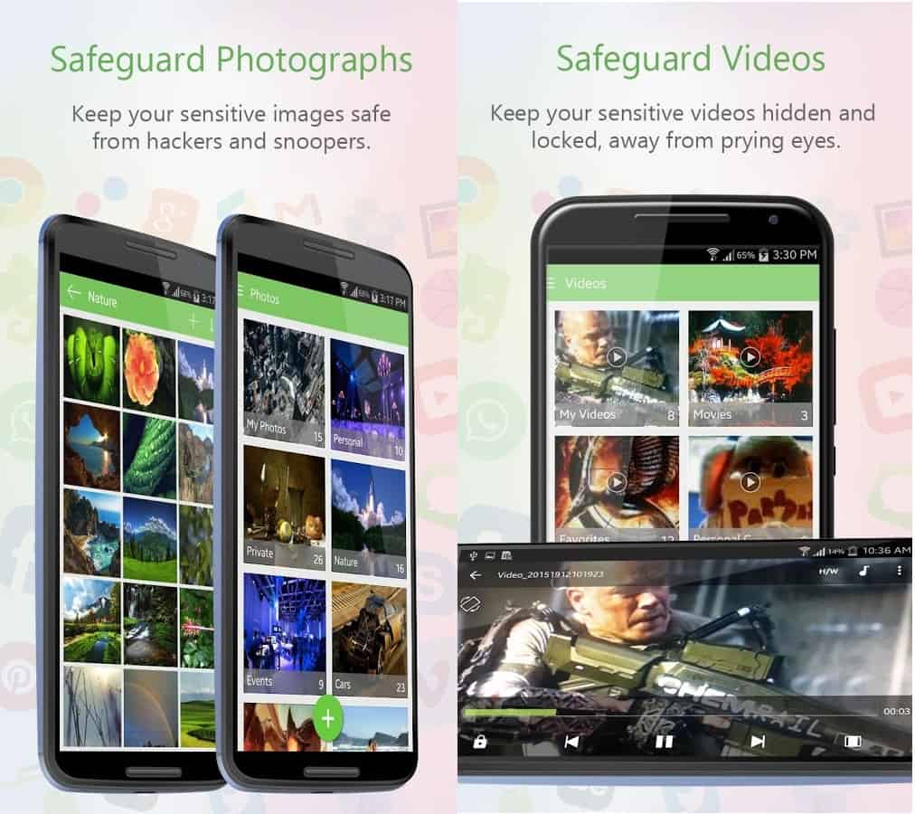 safeguard vidoes & photos
