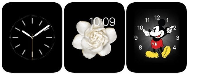 Choose Darker clock face-Apple Watch