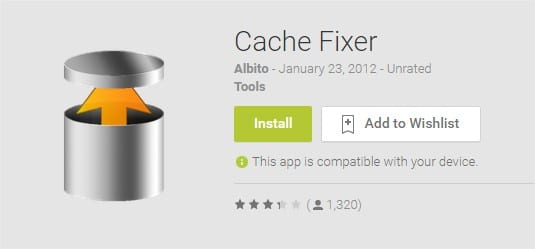 Cache Fixer - Android Apps on Google Play store