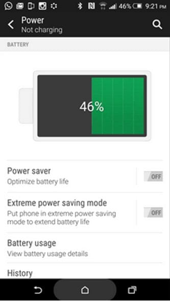 Problems with HTC One M9- Battery Drains