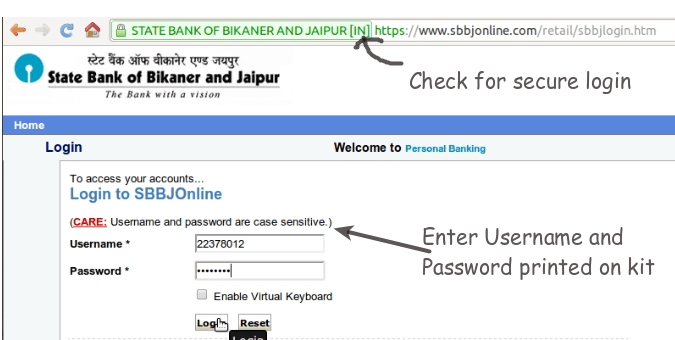 SBI Online Banking: How to Login for First Time