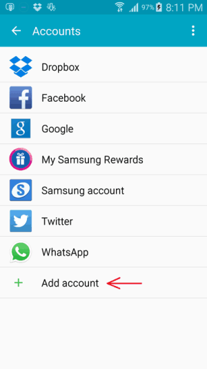Add your Google Account  to fix 491 google play store error