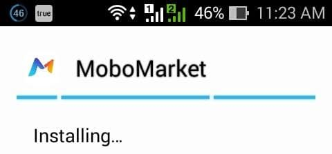 installing the mobomarket app for android