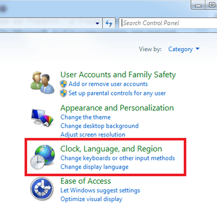 Change Date Format in Windows 7 and 8