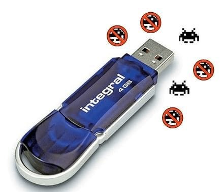 Ensure your USB is uninfected by virus