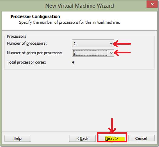 Enter no of Processors