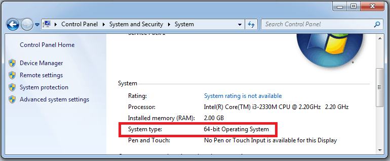 System Type