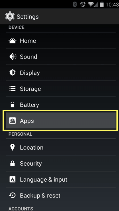 Disabe and delete unwanted apps on Android