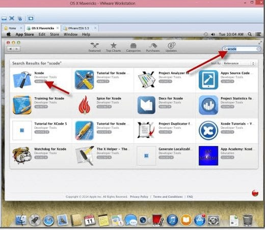 Download xcode from apple store