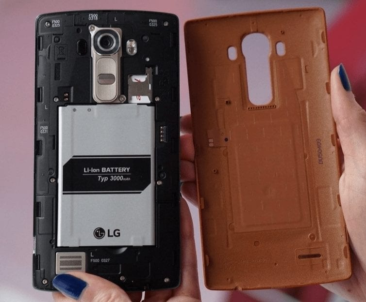 LG G4 - Large Removable Battery
