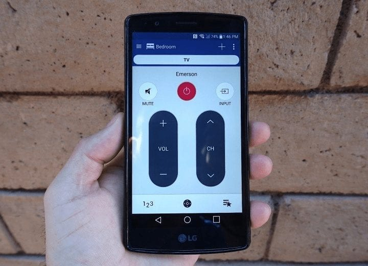 LG G4 works as a Remote Control