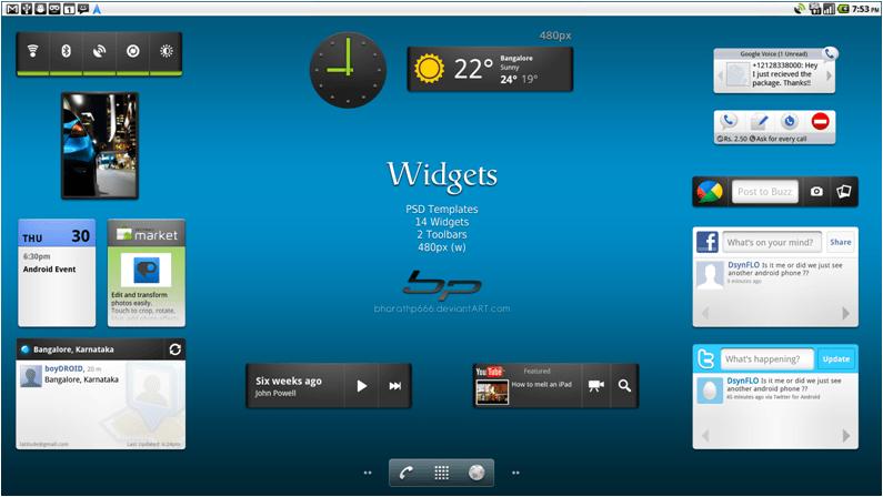Limit the usage of Widgets