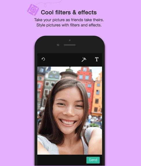 Picpal App - Retake and add effects to Joint Selfies