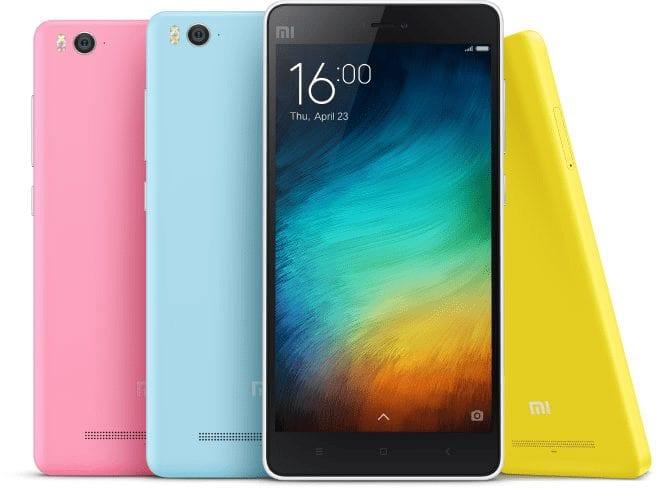 Xiaomi Mi 4i - top 10 android smartphones 2015