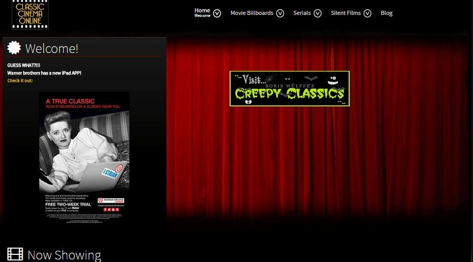 Classic Cinema Online movies free