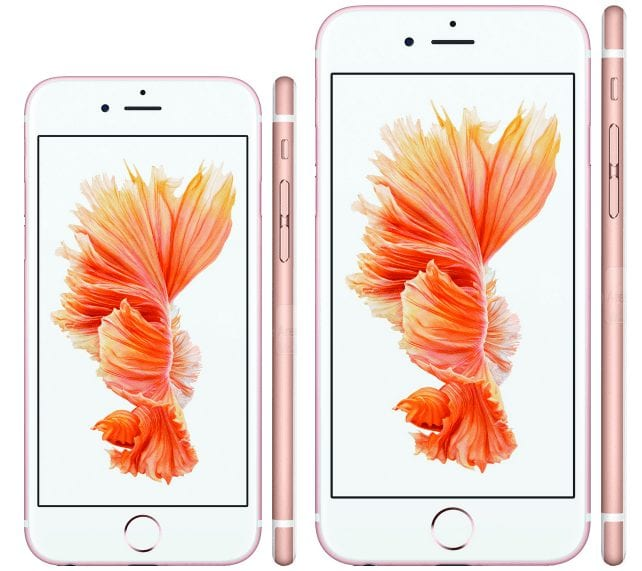 iPhone 6s and iPhone 6s Plus Announced in Apple iPhone Event