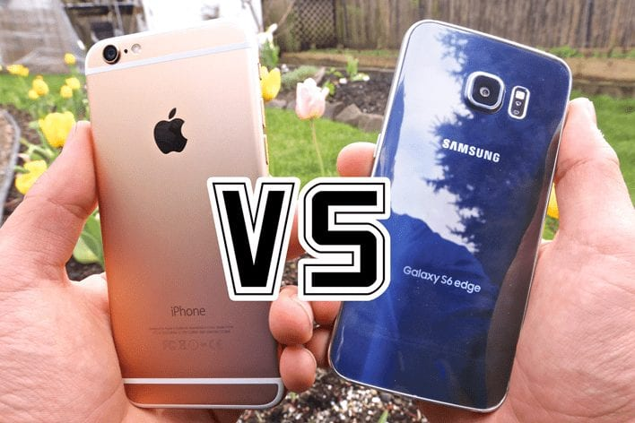 iphone 6s vs Galaxy s6 Edge