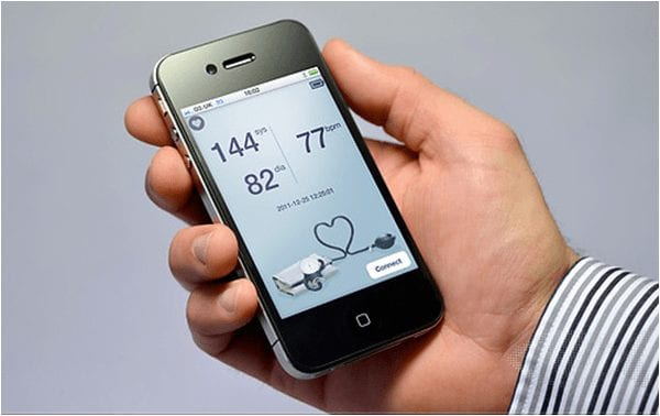 use smartphone to monitor your health