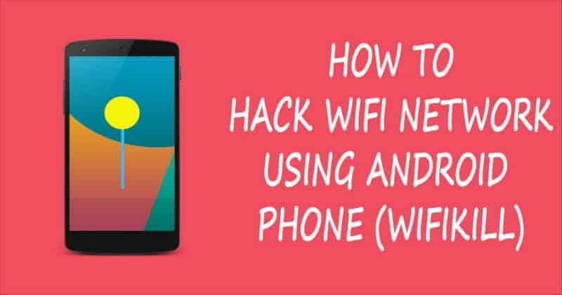 wifikill-password