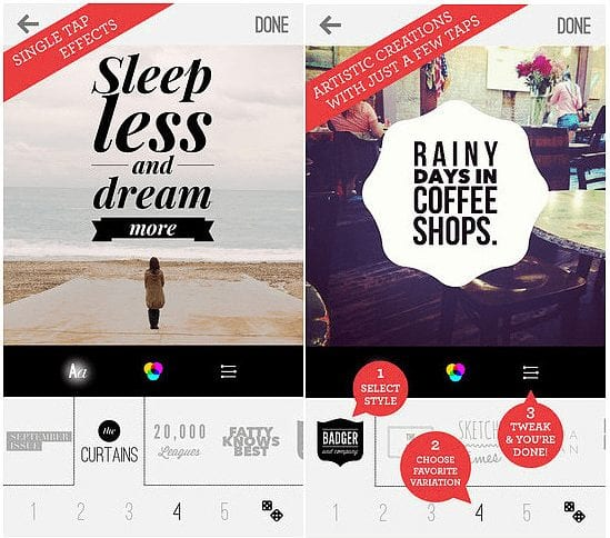 Best mobile apps to add text on images