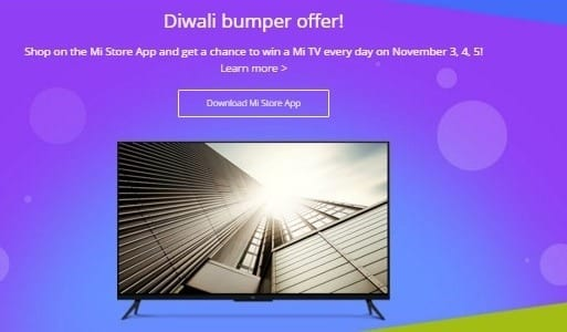 Diwali with Mi - Mi Tv offers