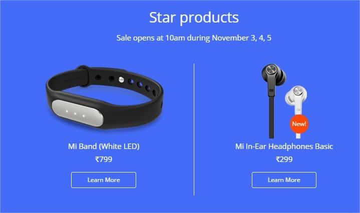 Diwali with Mi - star products